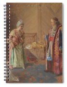 The First Curtsey Spiral Notebook