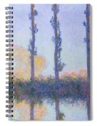 The Four Trees Spiral Notebook