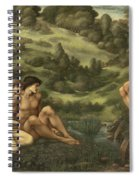 The Garden Of Pan Spiral Notebook