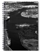 The Houston Ship Channel Spiral Notebook
