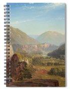 The Juniata, Evening Spiral Notebook