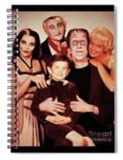 The Munsters Spiral Notebook