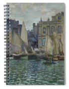 The Museum At Le Havre Spiral Notebook