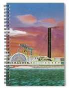 The Steamship Syracuse Spiral Notebook
