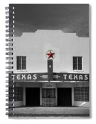 The Texas Theatre Of Bronte Texas Spiral Notebook