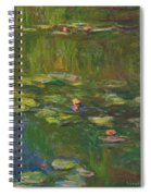 The Water Lily Pond Spiral Notebook