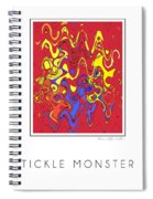 Tickle Monster Spiral Notebook