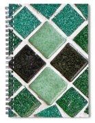 Tiles Spiral Notebook