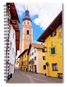 Town Of Kastelruth Street View Spiral Notebook
