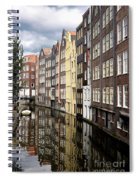 Traditional Canal Houses In Amsterdam. Netherlands. Europe Spiral Notebook