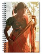 Tribal Beauty Of India Spiral Notebook