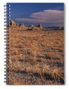 Trona Pinnacles Spiral Notebook