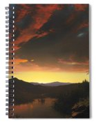 Twilight In The Wilderness Spiral Notebook