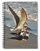 3- Upward And Onward Spiral Notebook