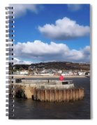 View From The Cobb - Lyme Regis Spiral Notebook