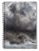 Volcanic Plumes With Poisonous Gases Spiral Notebook