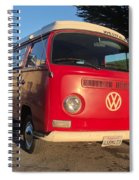 Volkswagen Bus T2 Westfalia Spiral Notebook