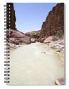 Wadi Zered Western Jordan Spiral Notebook