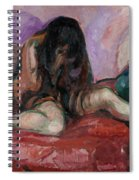 Weeping Nude Spiral Notebook