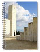 White City Statue, Tel Aviv, Israel Spiral Notebook