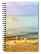 Whitefish Point, Michigan Spiral Notebook