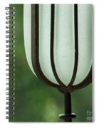 Window Sill Decoration Spiral Notebook