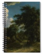 Woodland Road Spiral Notebook