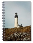 Yaquina Head Lighthouse - Toned By Texture Spiral Notebook