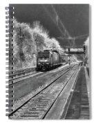 301 Ice Train Spiral Notebook