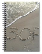 30a Beach Spiral Notebook