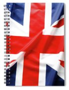 British Flag 6 Spiral Notebook