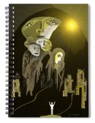 316  An Arrival Of The Gods A  Spiral Notebook