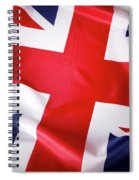 British Flag 7 Spiral Notebook