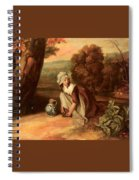 Walton Henry A Country Maid Henry Walton Spiral Notebook