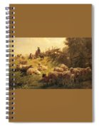 Weber Gottlieb Daniel Paul Near Obersdorf Bavaria Gottlieb Daniel Paul Weber Spiral Notebook