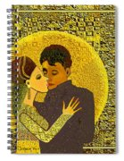 325  Golden Dancing  A Spiral Notebook