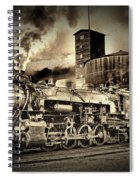 3254 In Old-time Look Spiral Notebook