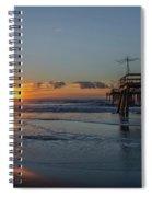32nd Street Pier Avalon Nj - Sunrise Spiral Notebook
