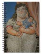 Bogota Museo Botero Spiral Notebook