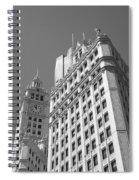 Chicago Skyline Spiral Notebook