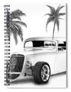 33 Ford Coupe Spiral Notebook