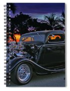33 Ford On The Mexico Beach Spiral Notebook