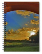 33- Window To Paradise Spiral Notebook
