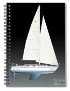 33b Gallant Sailing Spiral Notebook