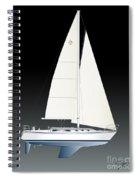 33b Gallant Sailing Spiral Notebook