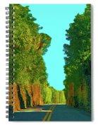34- Enchanted Highway Spiral Notebook