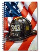 343 Spiral Notebook
