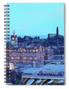 Edinburgh, Scotland Spiral Notebook