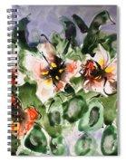 Divine Blooms Spiral Notebook