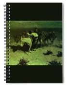 35427 Frederick Remington Spiral Notebook